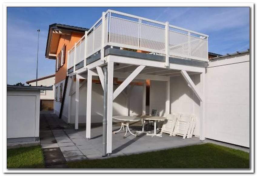 Carport Mit Integrierter Terrasse