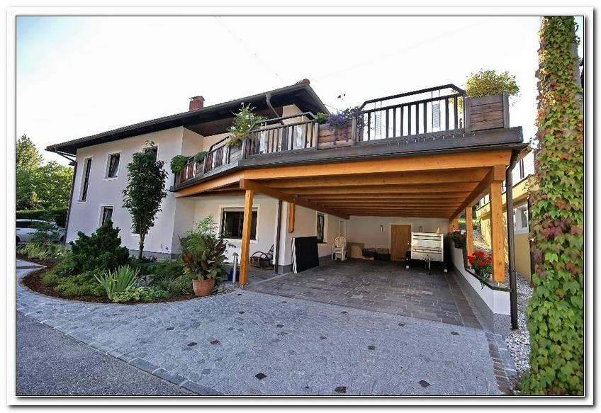 Carport Mit Terrasse Bauen