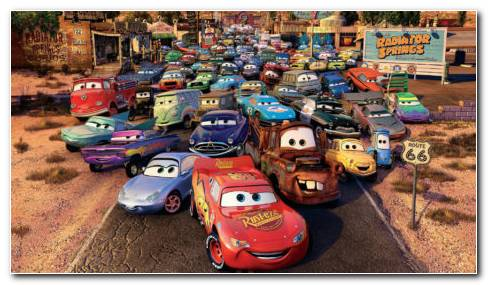 Cars 2 Toys HD Wallpaper