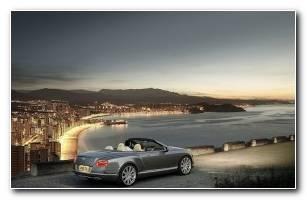 Cars Bentley Continental HD Wallpaper