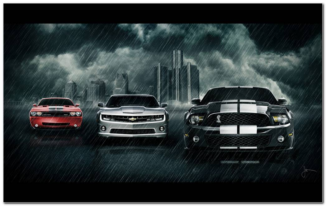 Cars Wallpapers And Pictures Classic Muscle Cars Wallpaper 1600x1000 (1)
