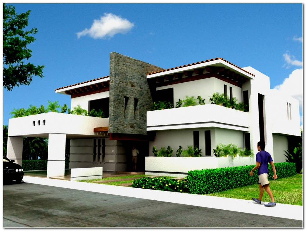 Casa Color Blanco Exterior