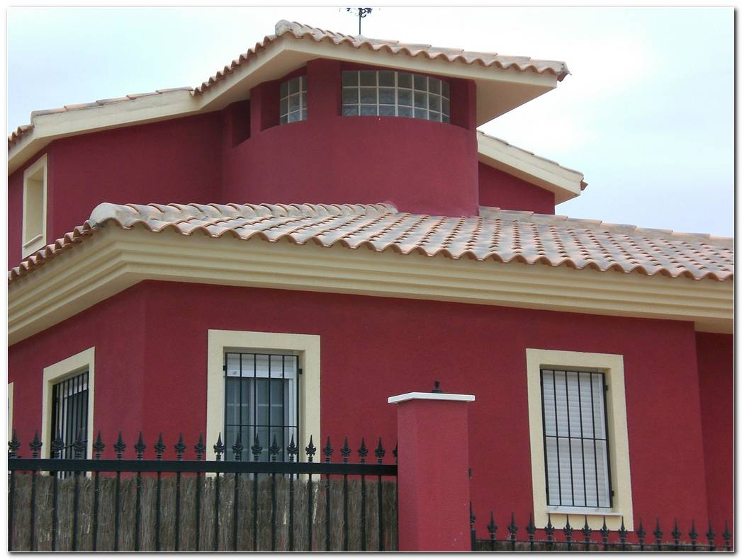Casa Color Teja Exterior