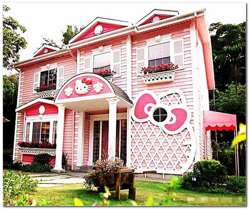 Casa Exterior Hello Kitty
