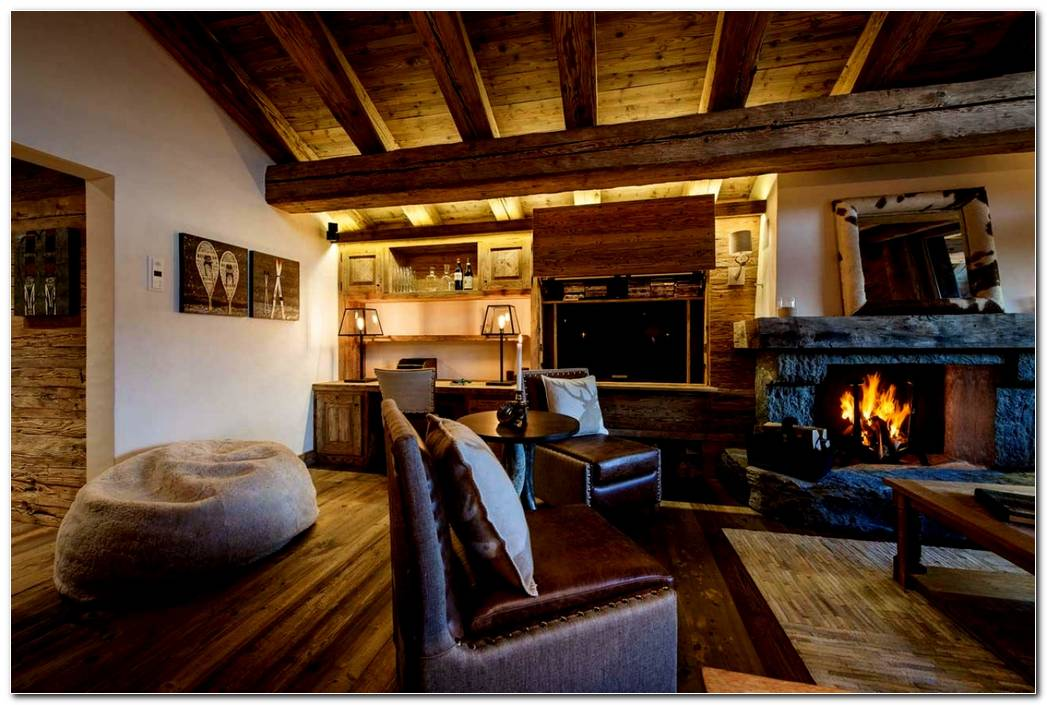 Casa Interiores Rusticos