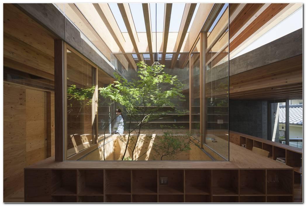 Casa Minimalista Jardin Interior