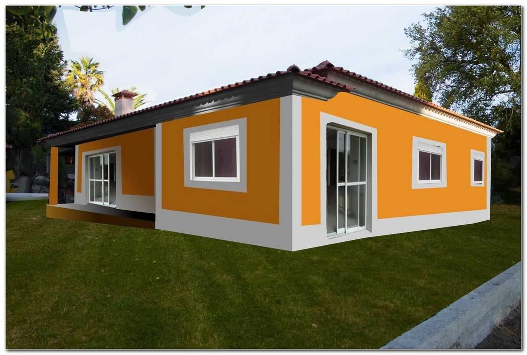 Casa Pintadas En Exterior