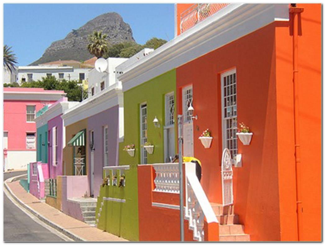 Casas Exterior Color Naranja