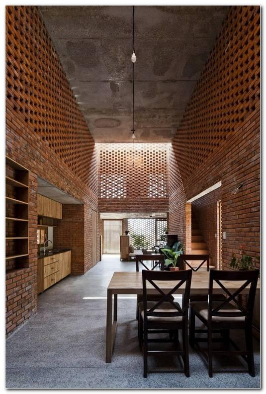 Casas Interiores De Ladrillo
