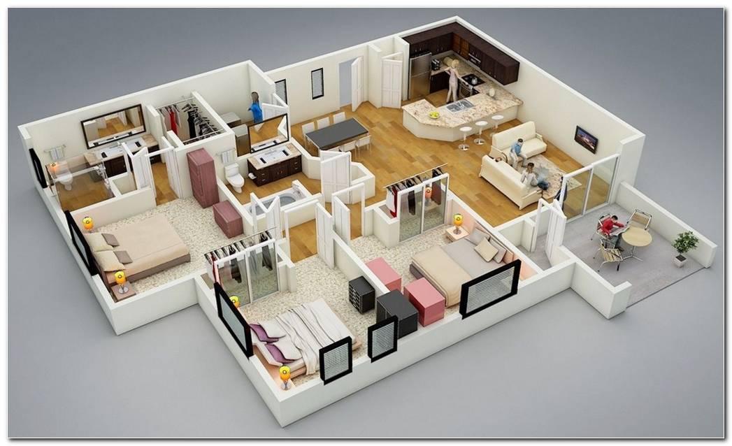 Casas Modernas Interiores 3d