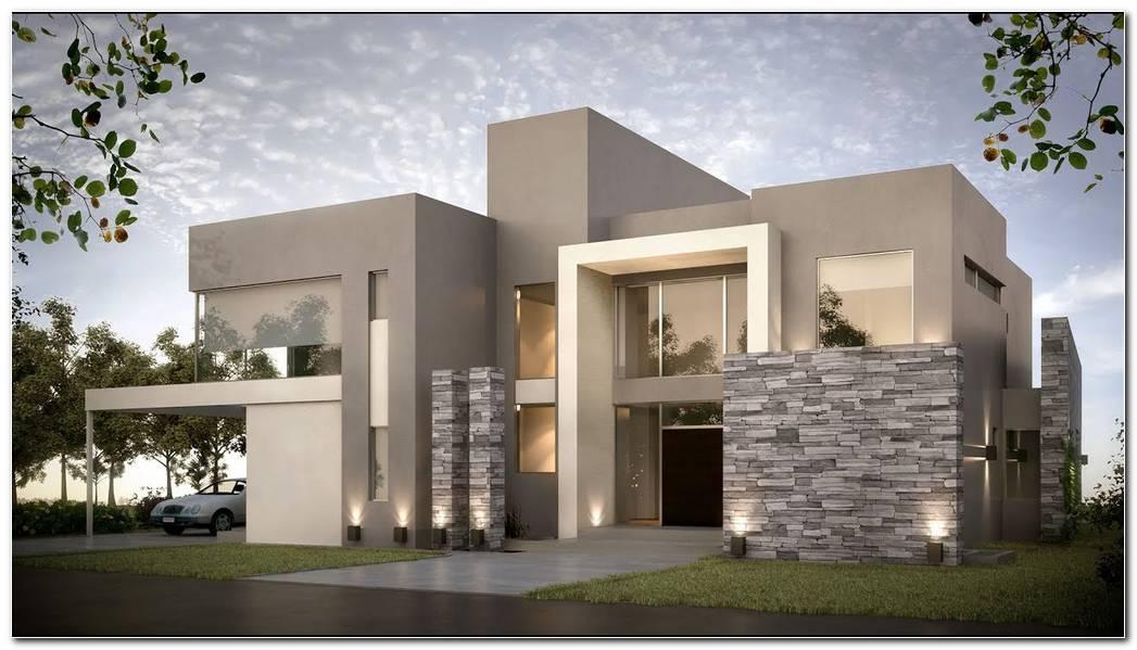 Casas Pintadas Exterior Modernas