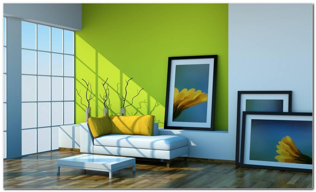 Casas Pintadas Interiores Verde