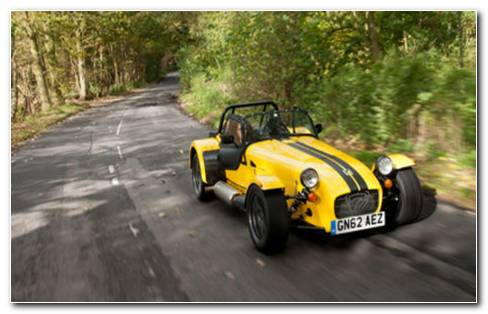 Caterham Seven Supersport HD Wallpaper