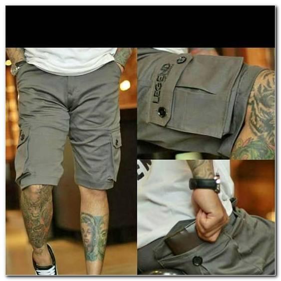 Celana Pendek Cargo Pria