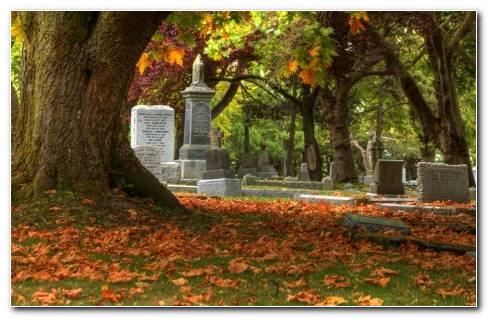Cemetery Grave Wallaper
