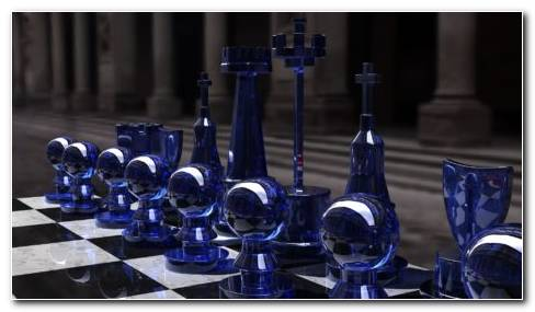 Chess Board On Table HD Wallpaper