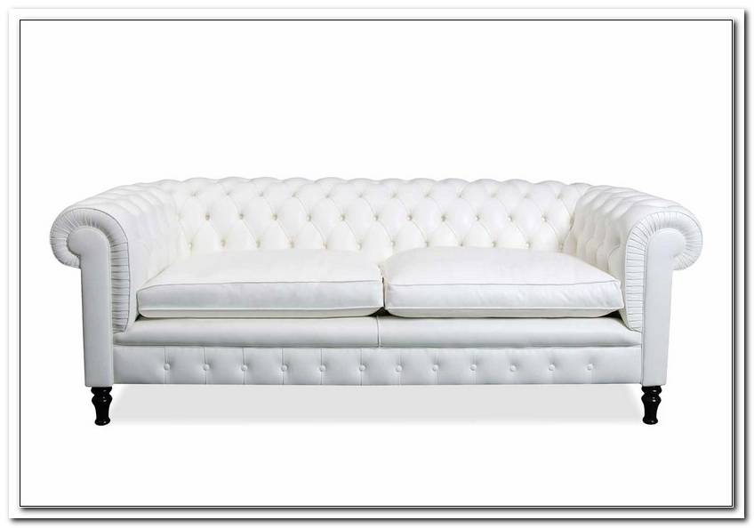 Chesterfield Sofa Wei? G?Nstig