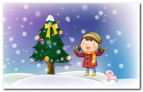 Christmas Artwork HD wallpaper
