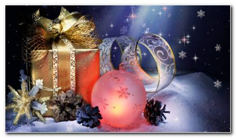 Christmas Gifts Amazing HD Wallpaper