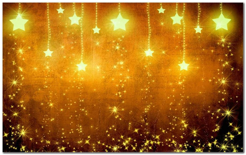 Christmas Yellow Background Wallpaper
