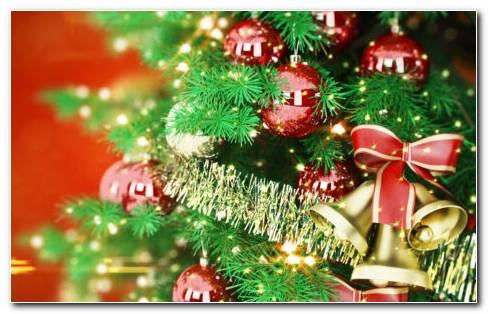 Christmas bells toys HD wallpaper