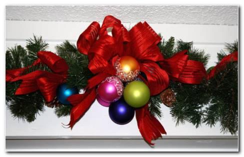 Christmas ribbons HD wallpaper