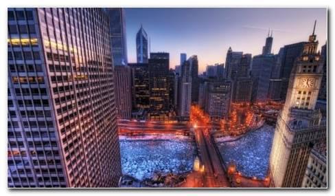 City Skyline HD Wallpaper