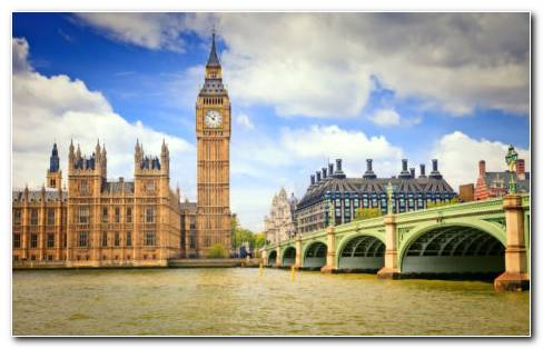Clock Tower Big Ben HD Wallpaper