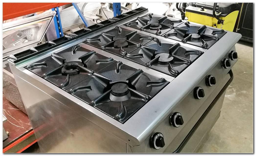 Cocina 6 Fuegos Industrial
