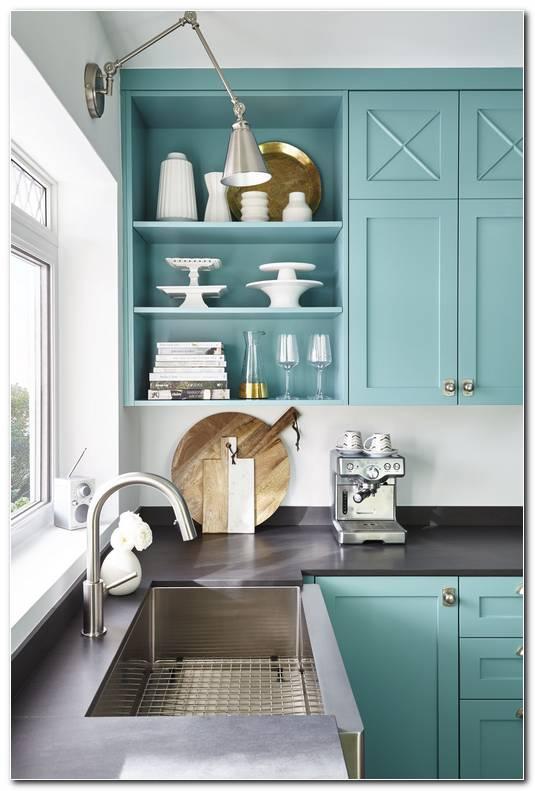 Cocina Color Aqua