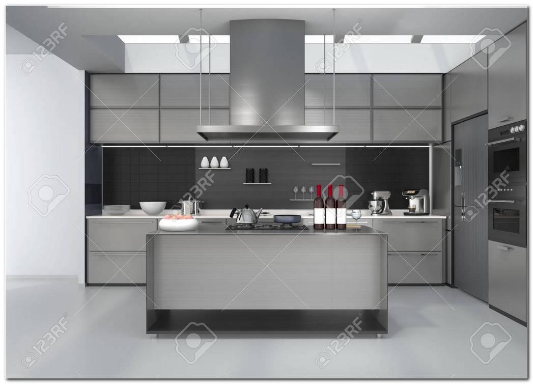 Cocina Color Plata