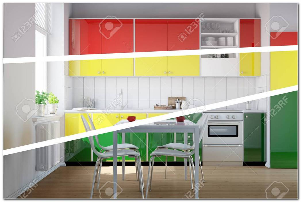 Cocina De Tres Colores