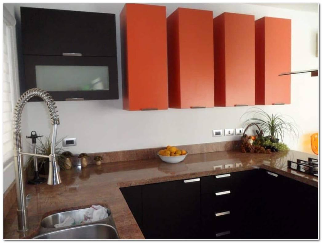 Cocina Integral Color Naranja