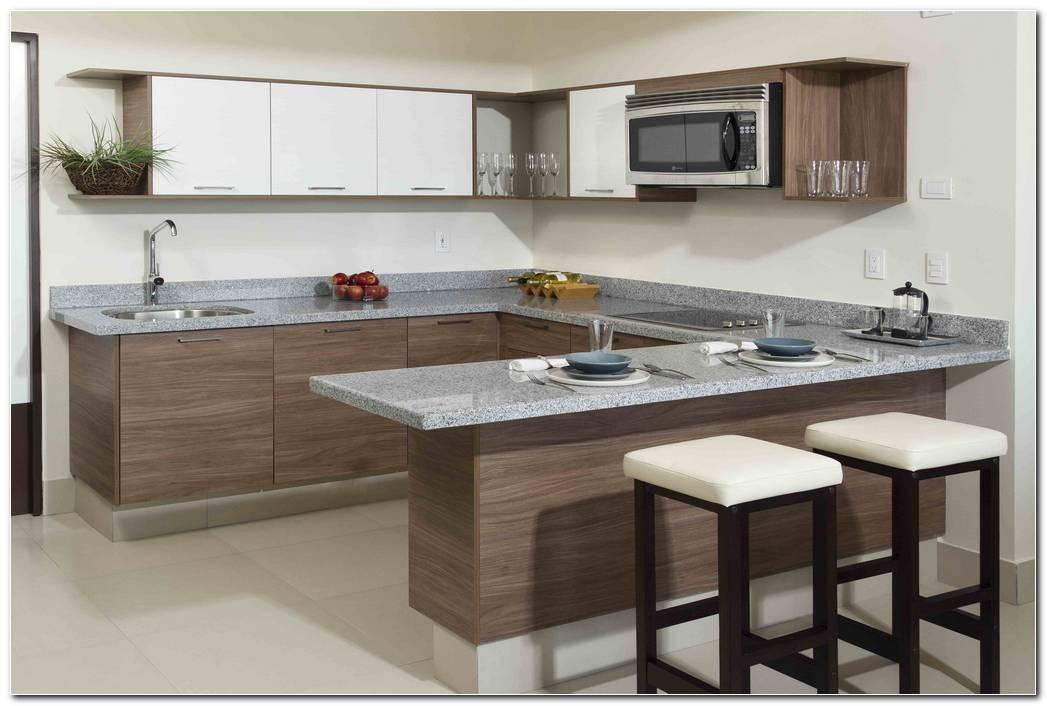 Cocina Integral Color Nogal