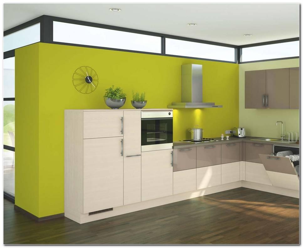 Cocina Pintada De Color Verde