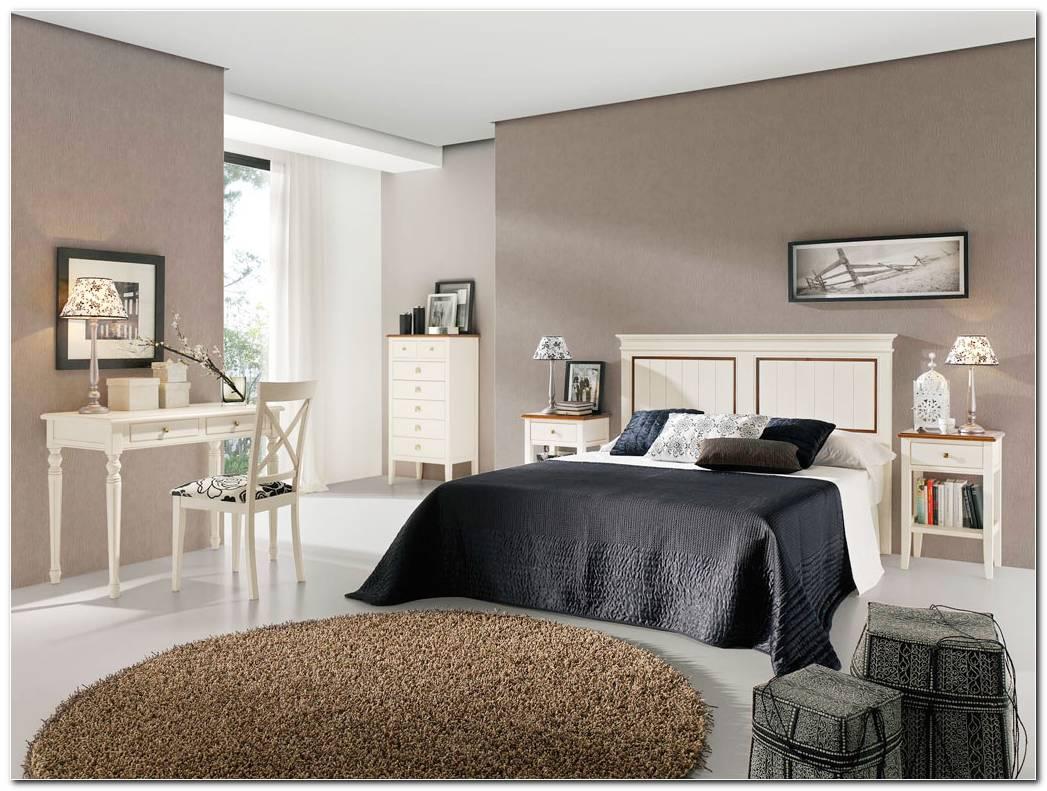 Colores Dormitorio Muebles Blancos