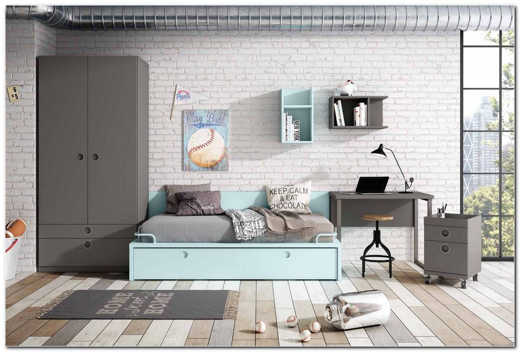 Colores Pintura Dormitorio Juvenil