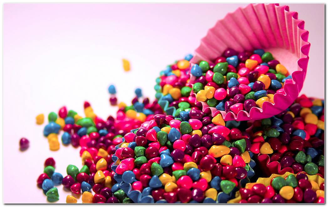 Colorful Candys Background Wallpaper
