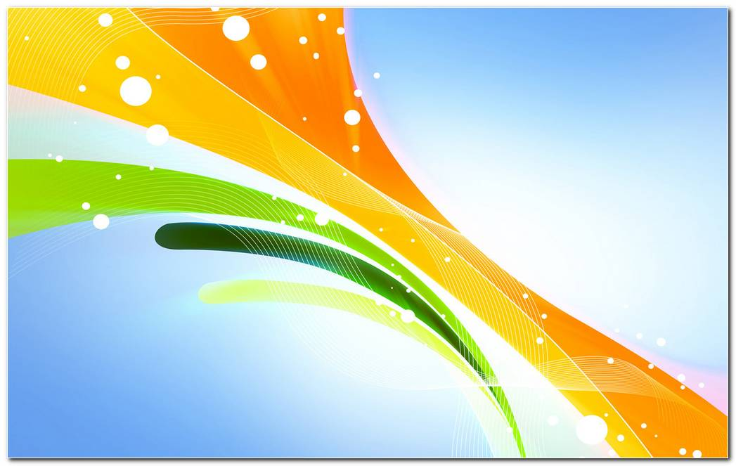 Colorful Ribbons Background Wallpaper