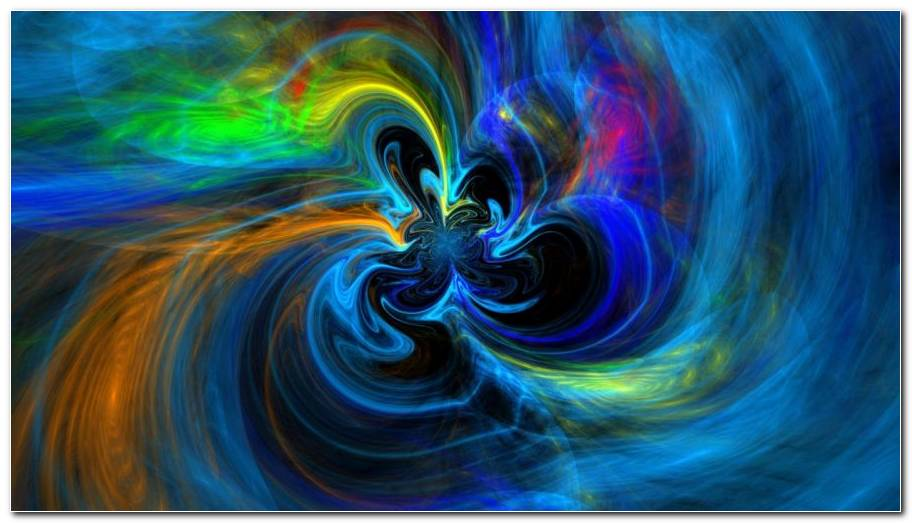 Colorful Swirl Background Wallpaper