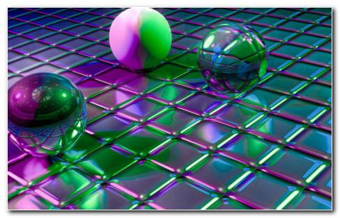 Colorful Balls HD Wallpaper