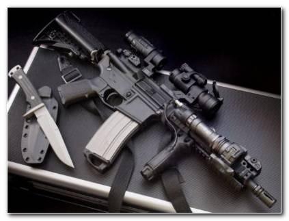 Colt AR 15 Silver