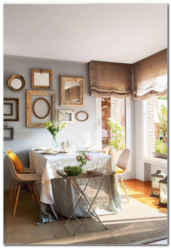 Como Decorar Un Salon Comedor