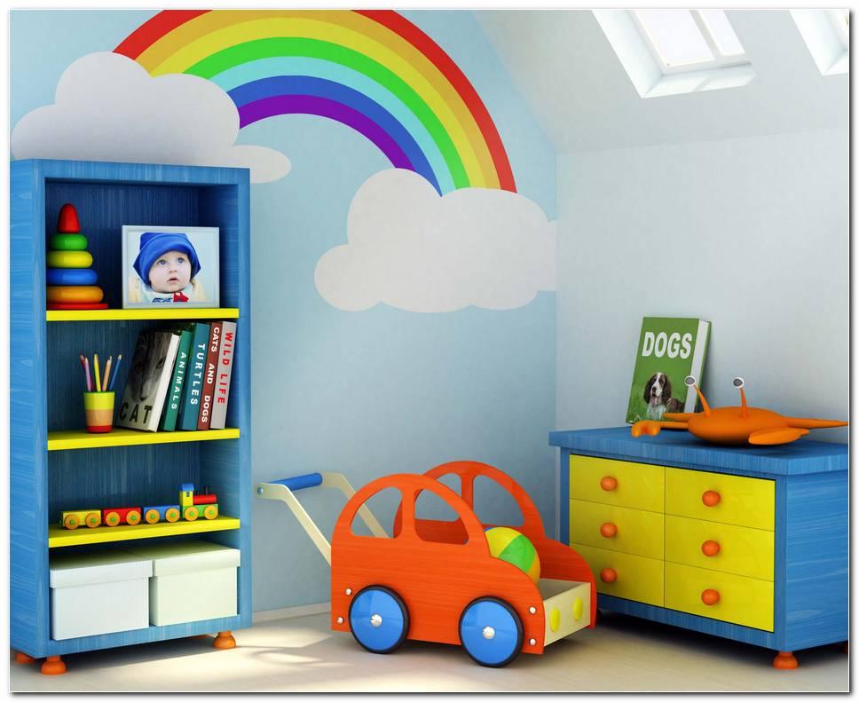 Como Pintar Dormitorios De Ni?os