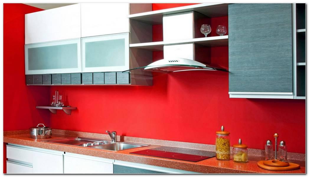 Como Pintar Una Cocina De Color Rojo