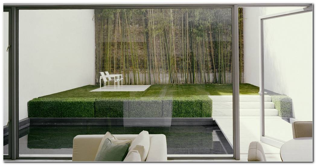 Concepto De Jardin Minimalista