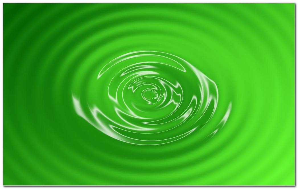 Cool Green Swirl Background Wallpaper