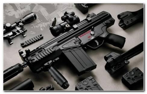 Cool Guns HD Wallpaper