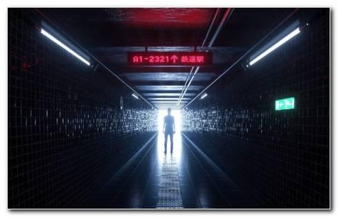 Cool Interior Design Of Underground Corridor