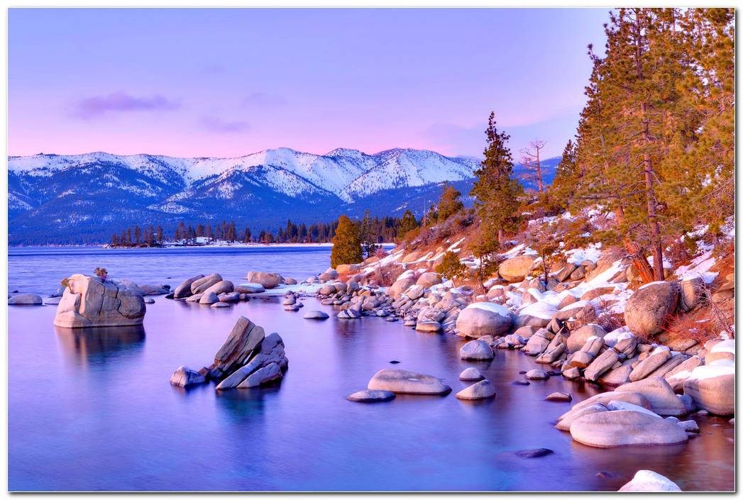 Cool Lake Tahoe Wallpaper Background